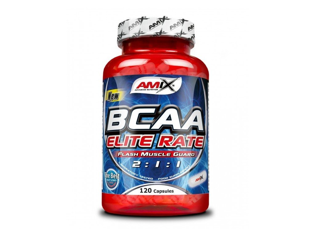 Amix BCAA Elite Rate 120 cps