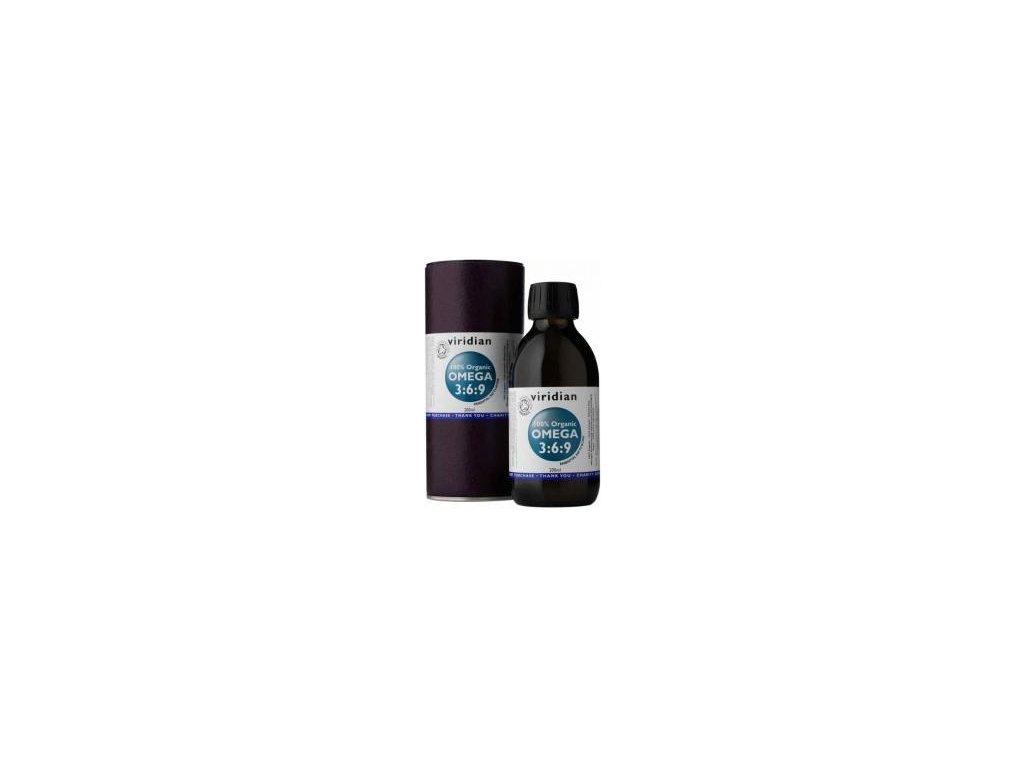 Viridian 100% Organic Omega 3:6:9 Oil 200ml