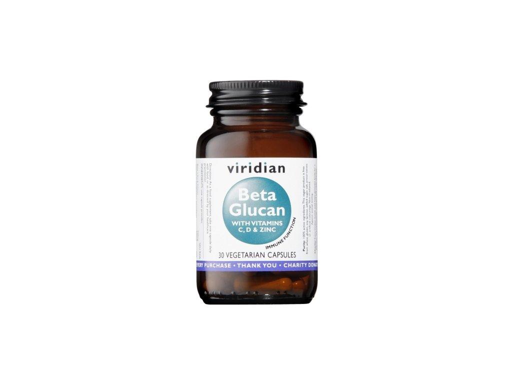 viridian beta glucan 30 kapsli