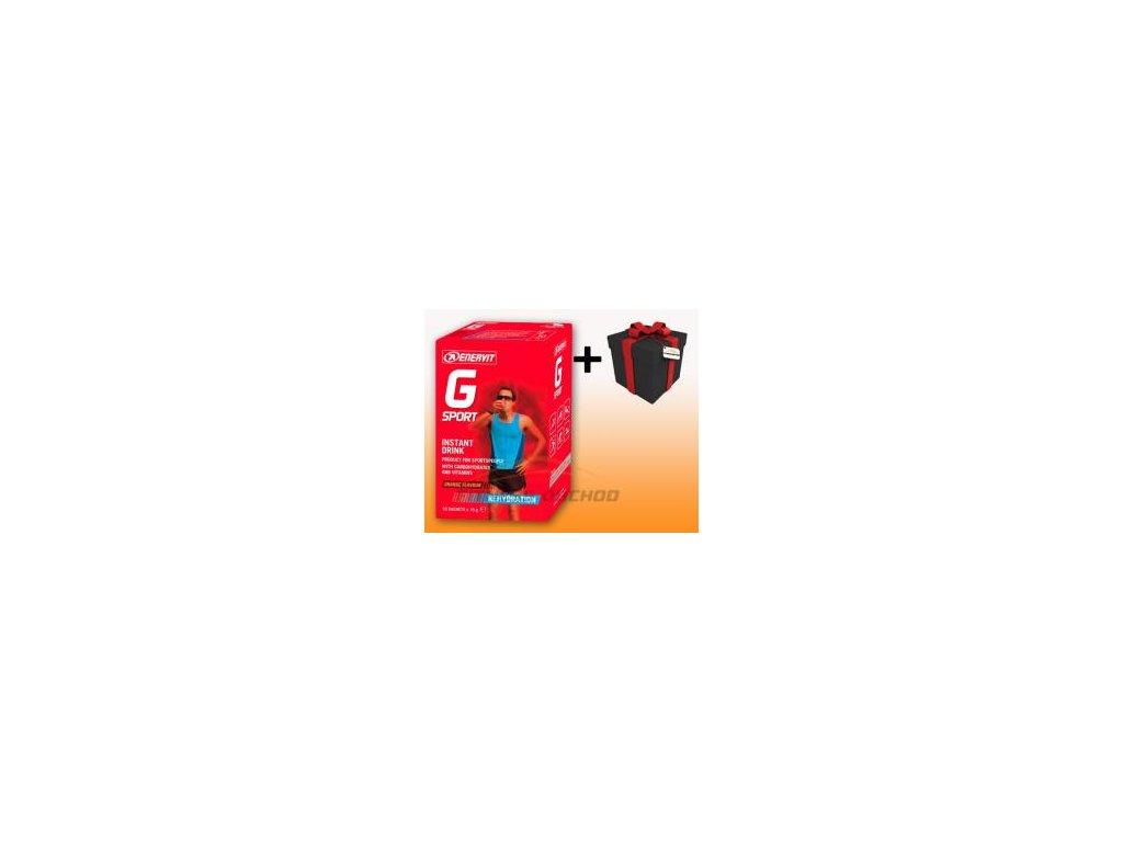Enervit - Enervit G 10 x 15 g sáčky pomeranč +  SLEVA