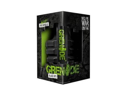 Grenade GRENADE BLACK OPS 100 kapslí + 2 x Blistr Grenade + SLEVA SLEVA
