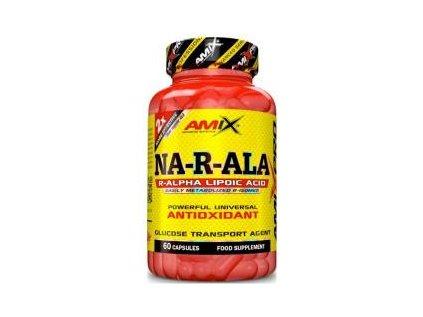 Amix Pro Series NA-R-ALA Alpha Lipoic Acid 100 mg 60 kapslí