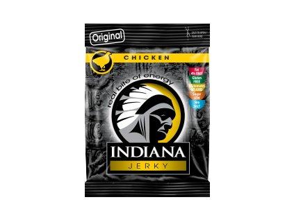 Indiana Jerky sušené maso 25g kuřecí original