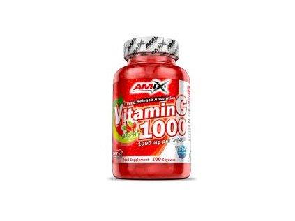 Amix Vitamin C 1000 mg + Rose Hips 100 kapslí