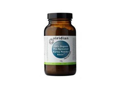 Viridian 100% Organic Activated Barley Powder 100g