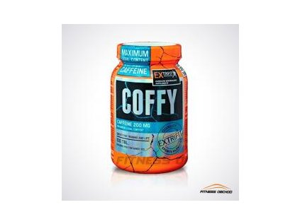 Extrifit - Coffy Stimulant 200mg 100 cps +  SLEVA