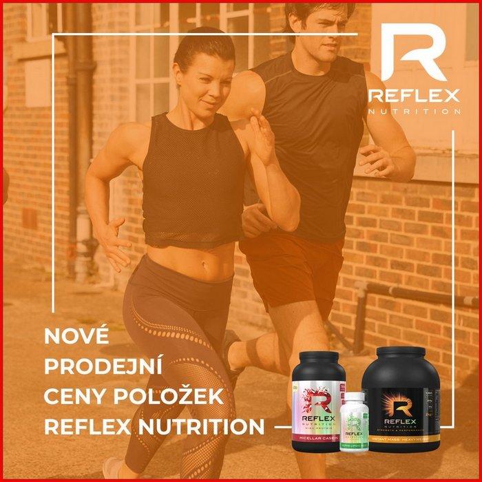 Nové ceny produktů Reflex Nutrition