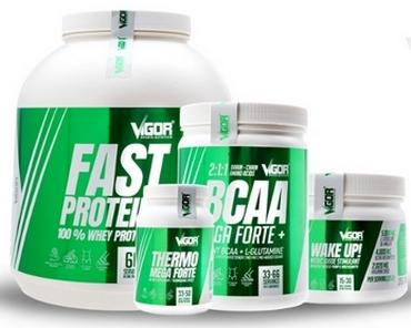 Exkluzivní kombinace doplňků Vigor Nutrition