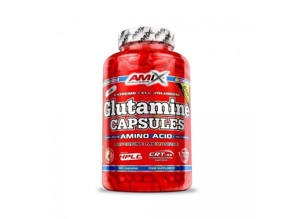 glutamin kapsle 360 amix