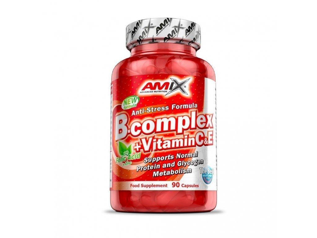B-Complex + Vitamin C&E 90 kapslí