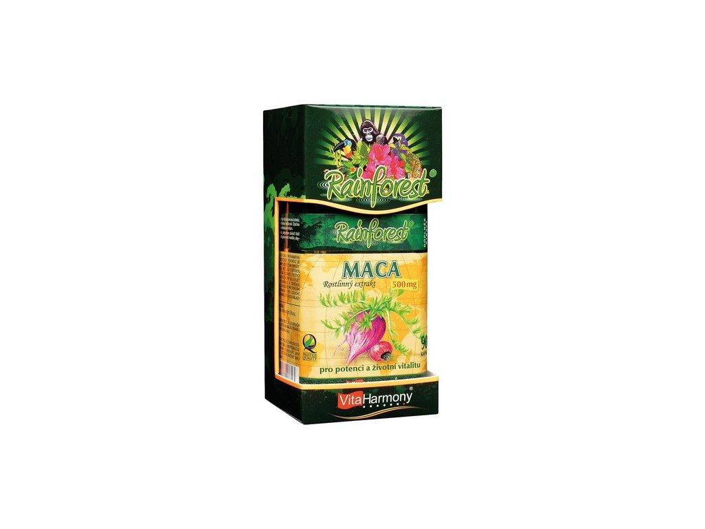 RainForest® Maca 500 mg - 90 kapslí