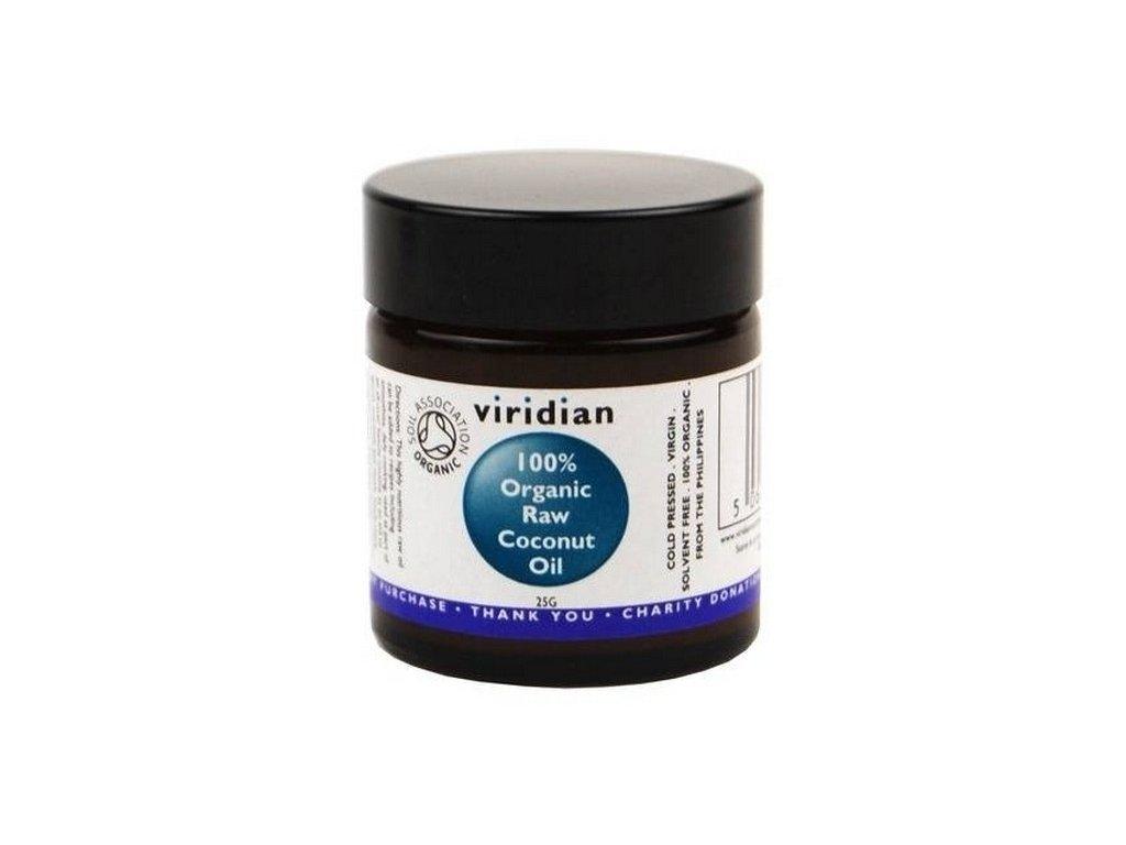 kokosový olej viridian