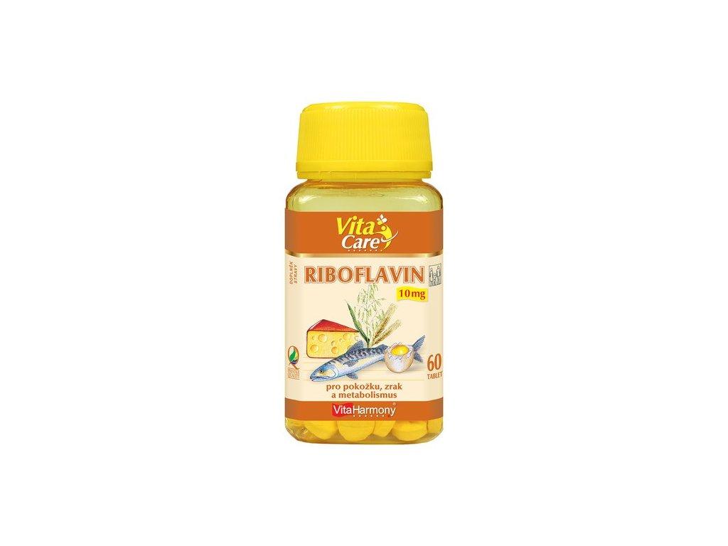 Riboflavin (Vitamin B2) 10 mg - 60 tbl.