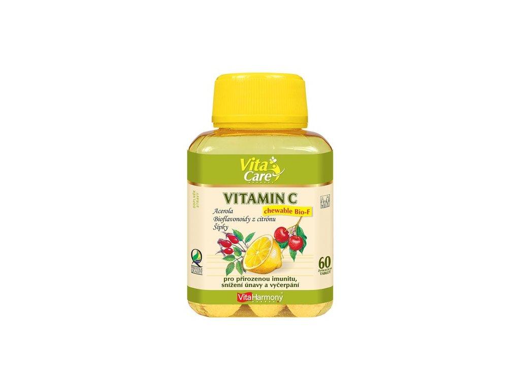 Vitamin C Chewable Bio-F - 60 žvýkacích tablet