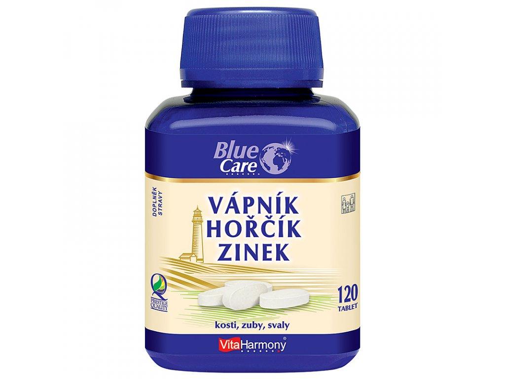 Vápník - Hořčík - Zinek - 120 tablet