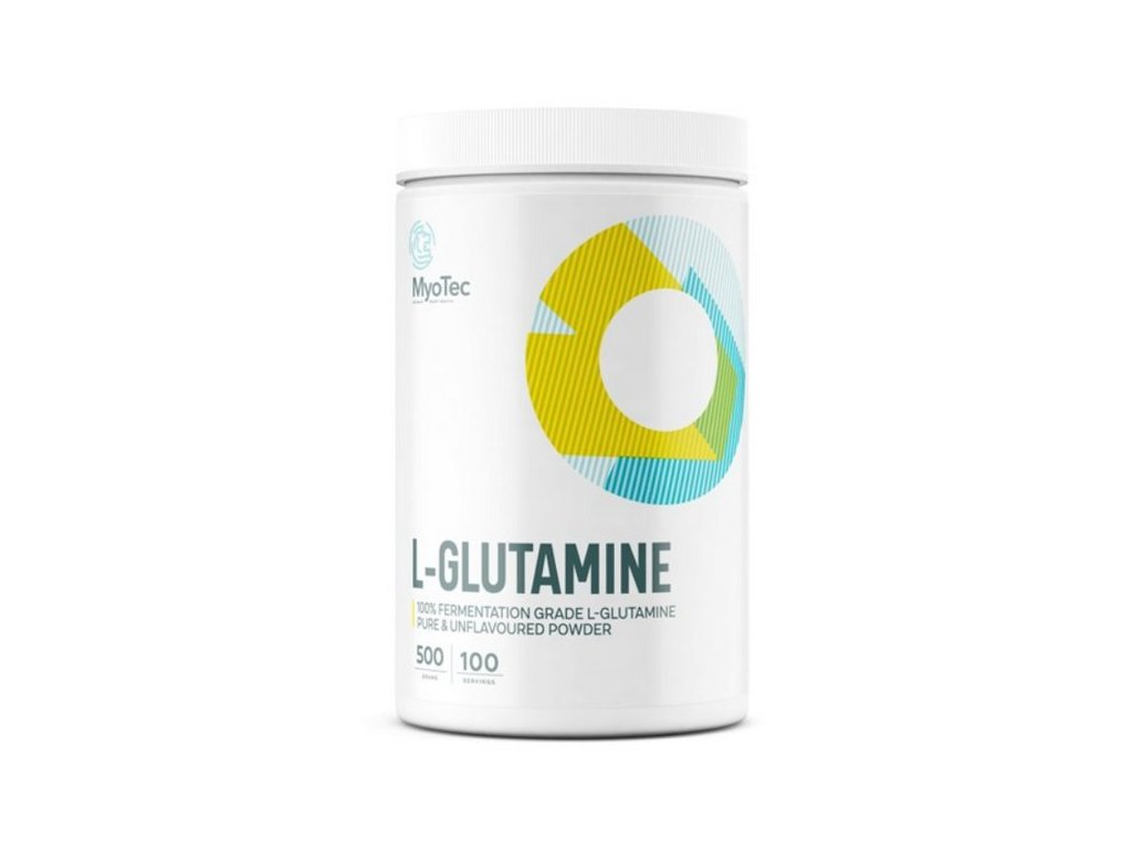 l glutamin myotec 500g aminokyselina