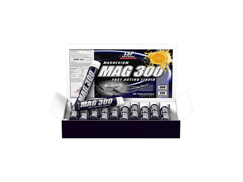 Magnesium Liquid MAG 300 20 ampulí