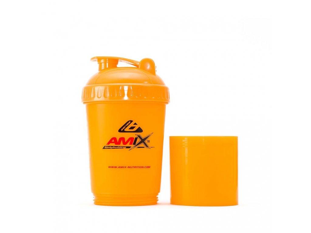 Šejkr Amix Monster Bottle - oranžový