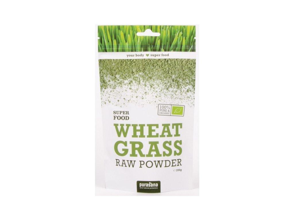 Wheat Grass Powder BIO (Mongolsko) 200g