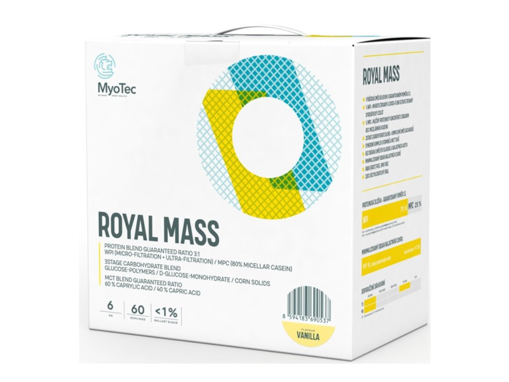 myotec royal mass gainer 6 kg