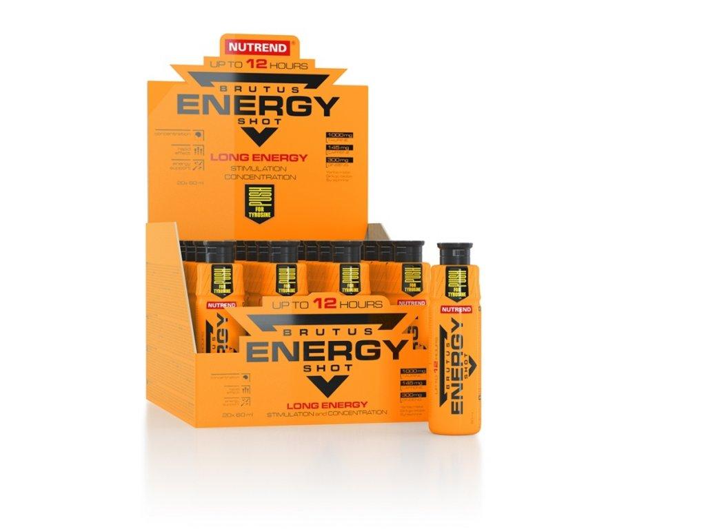 Brutus Energy Shot 20 x 60 1200ml