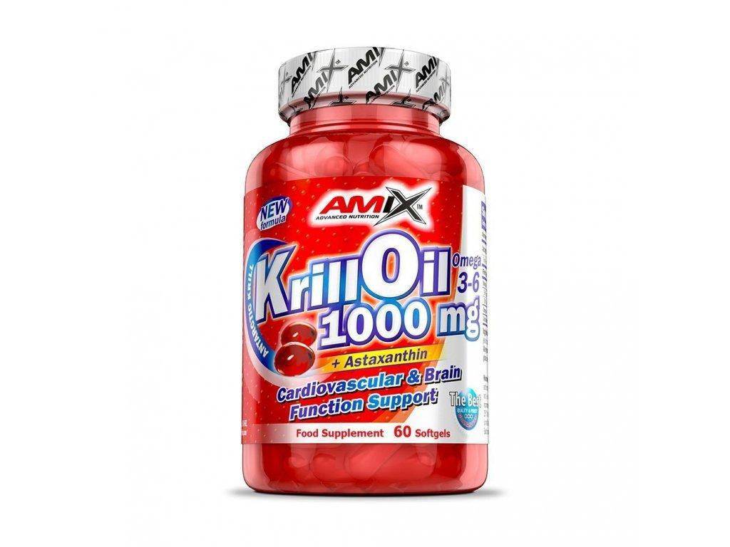 Amix Krill Oil 1000 60 kapslí