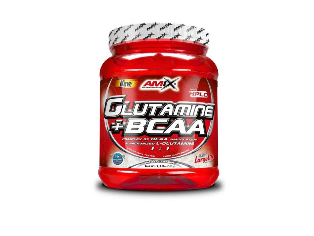 Amix Glutamine + BCAA Powder 500 g