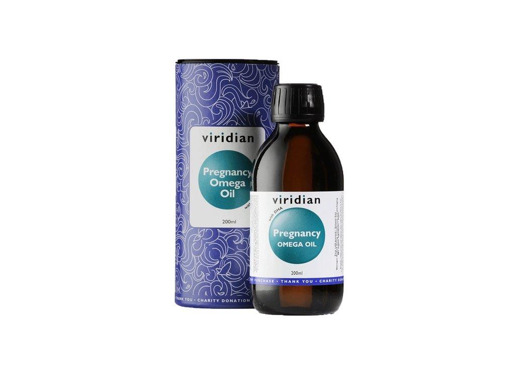 Pregnancy Omega Oil 200ml (Směs olejů pro těhotné poskytující omega 3, 6 a 9)