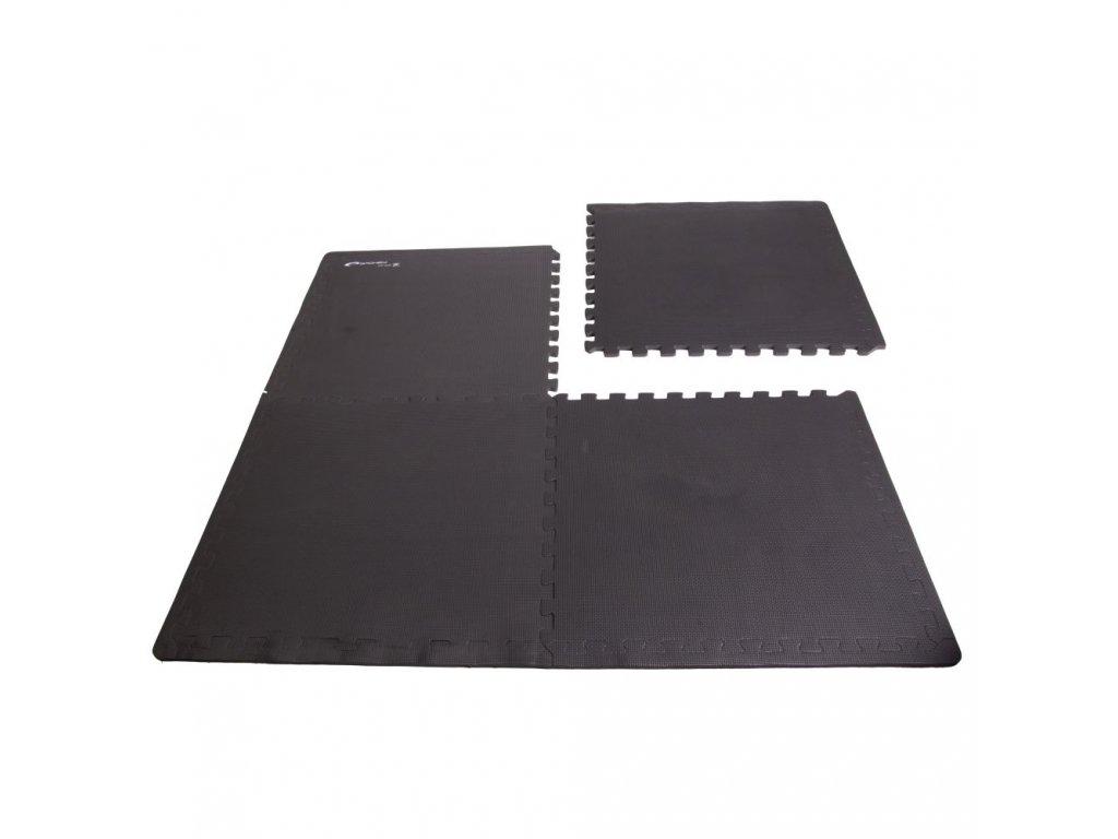 Podložka puzzle pod fitness vybavení Scrab 4ks 61 x 61 x 1,2 cm
