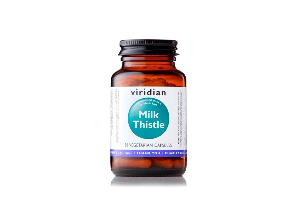 Milk Thistle 30 kapslí