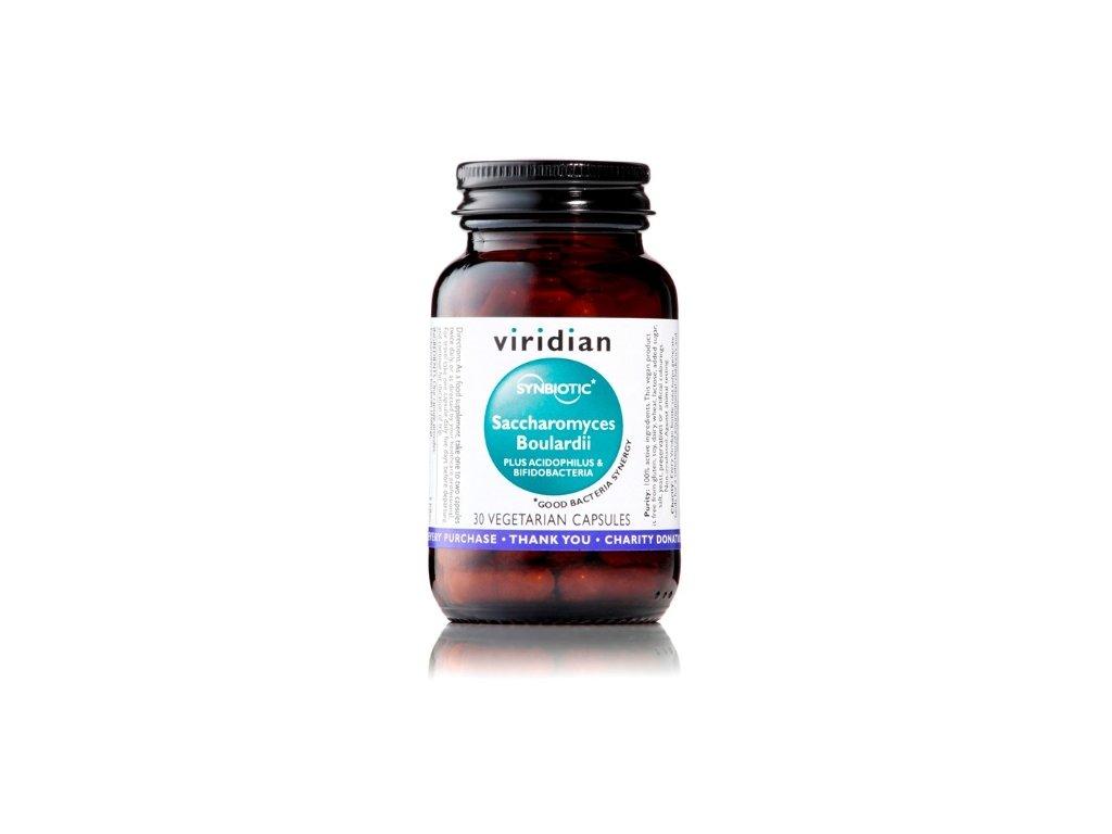 Synerbio Saccharomyces Boulardii 30 kapslí (Unikátní komplex probiotik a prebiotik)