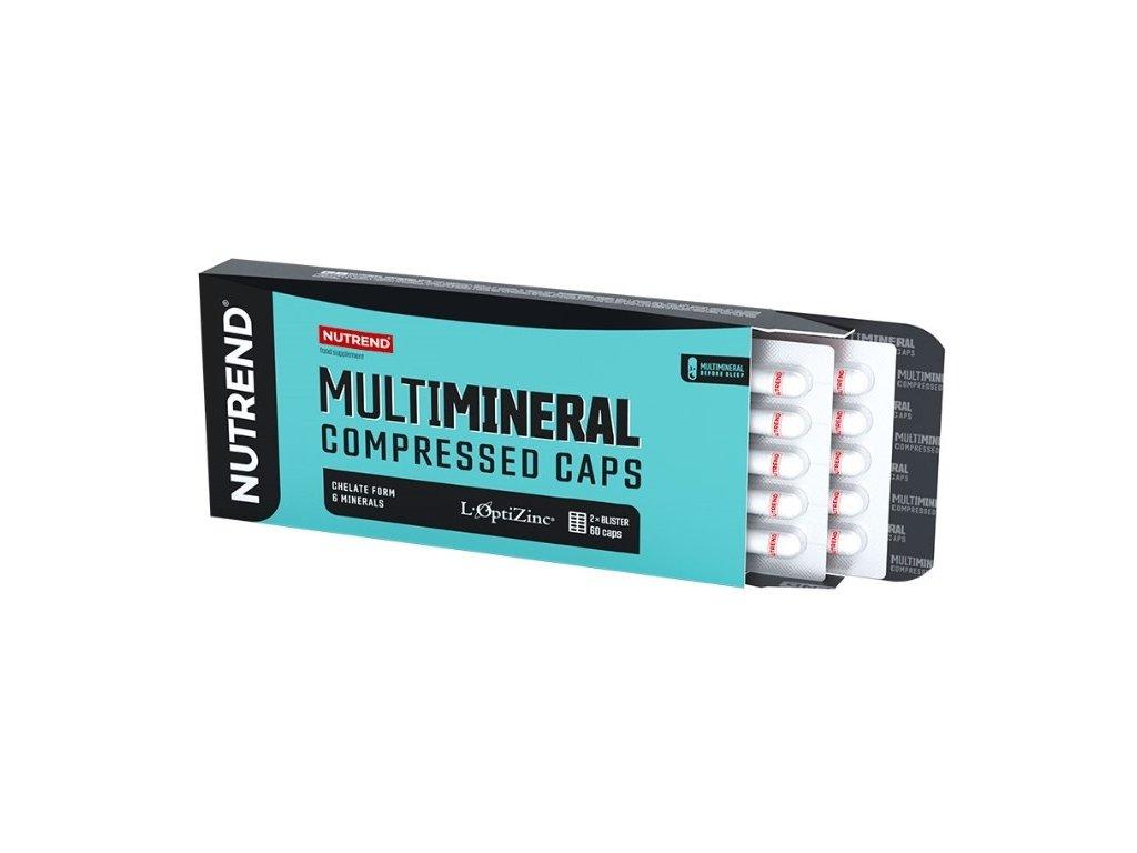 Multimineral Compressed 60 kapslí