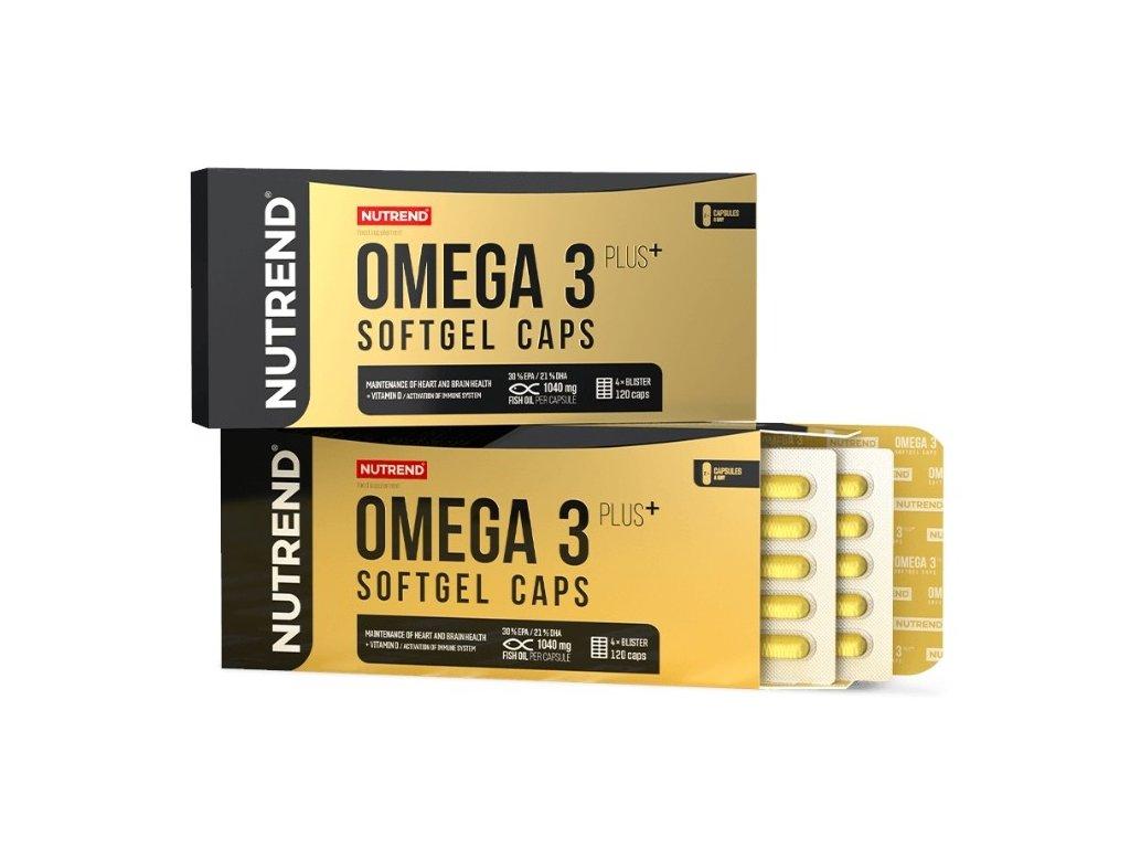 Omega 3 Plus Softgel 120 kapslí