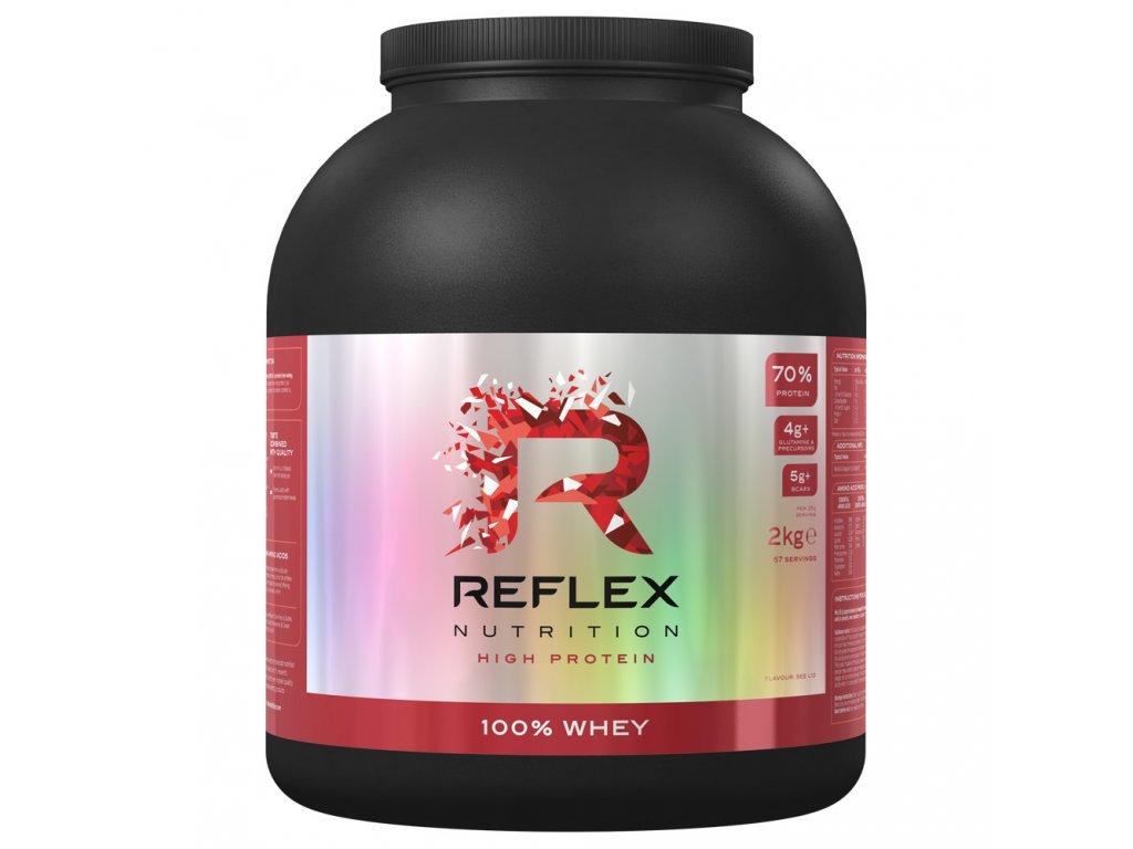 100% whey protein reflex