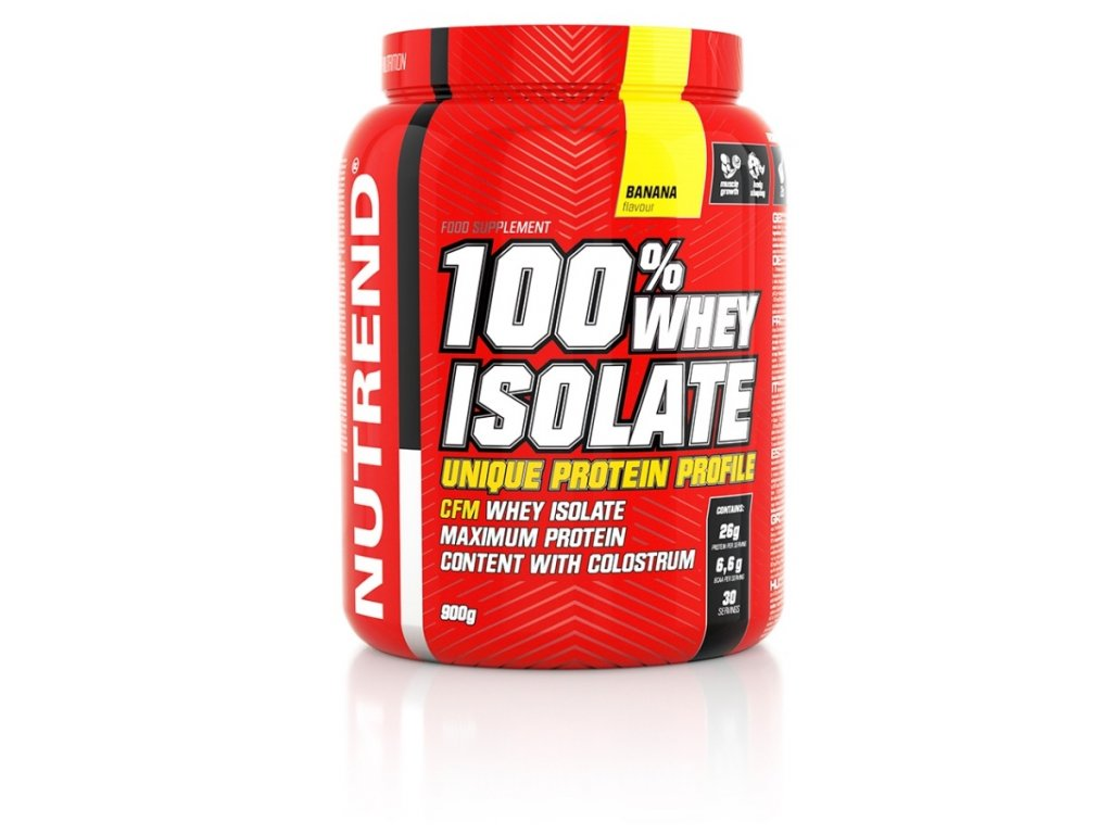 100% Whey Isolate 900 g