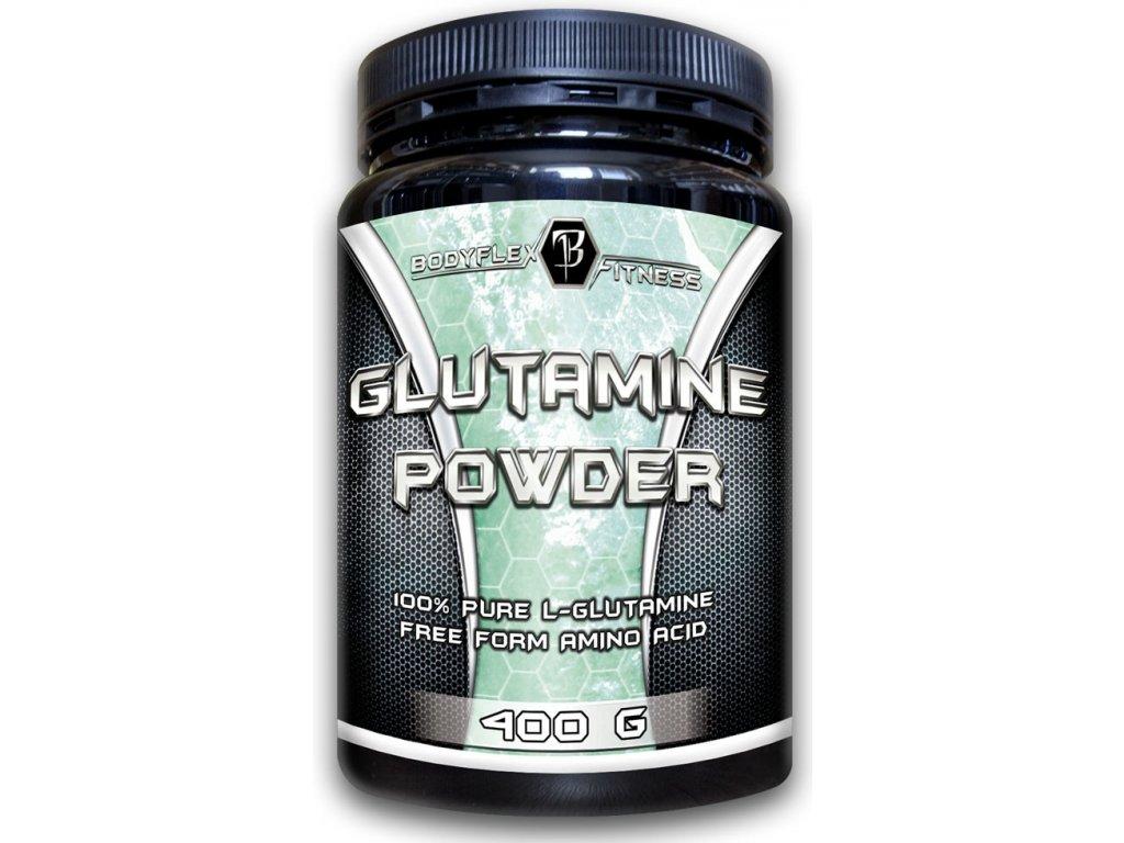 Glutamine powder BodyFlex 400 g - expirace 8.11.2021