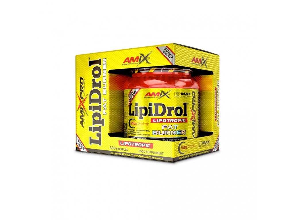 LipiDrol® Fat Burner 300 kapslí