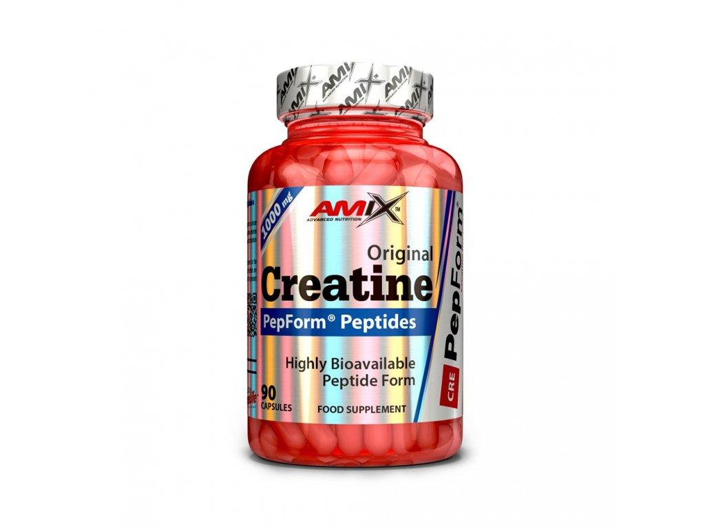 Výsledek obrázku pro Creatine Peptide PepForm 90 kapslí