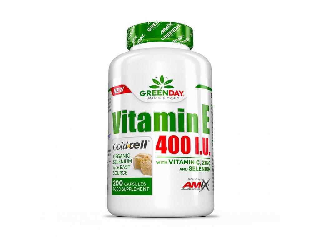 Amix vitamín E a C