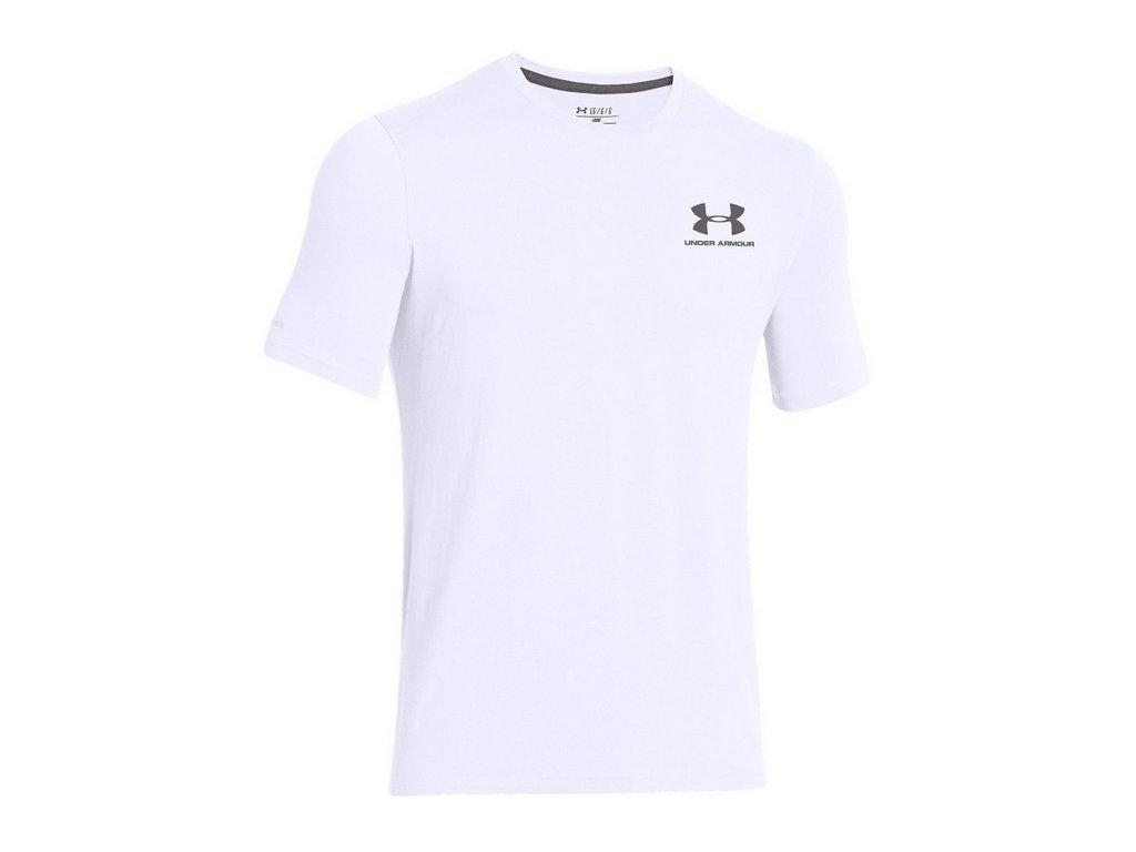 bílé tričko under armour