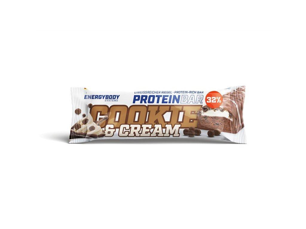 protein bar cookie&cream riegel