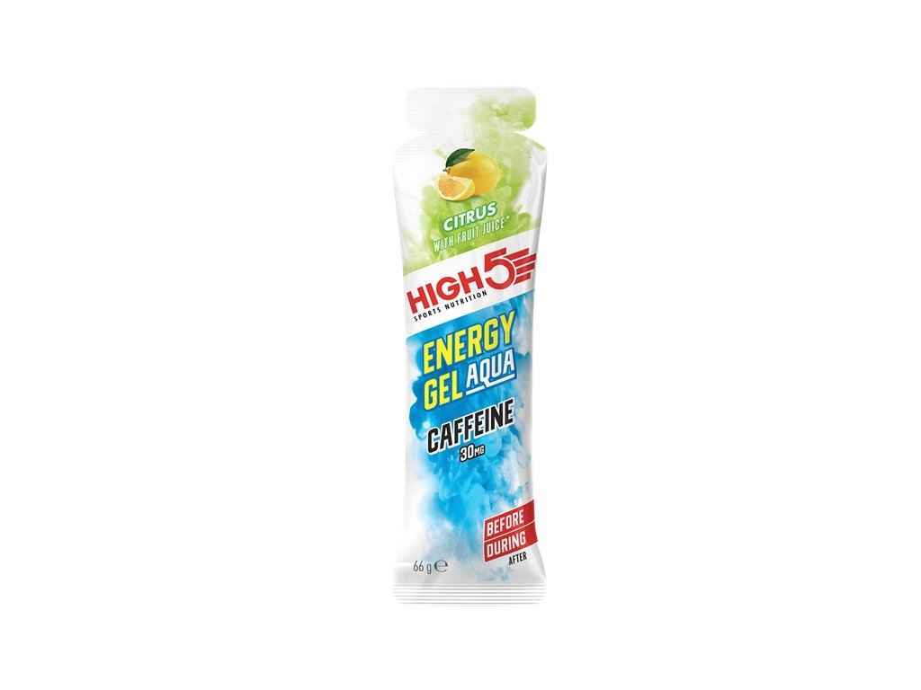 energy gel aqua caffeine high5