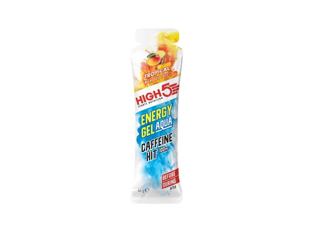 energy gel aqua caffeine hit