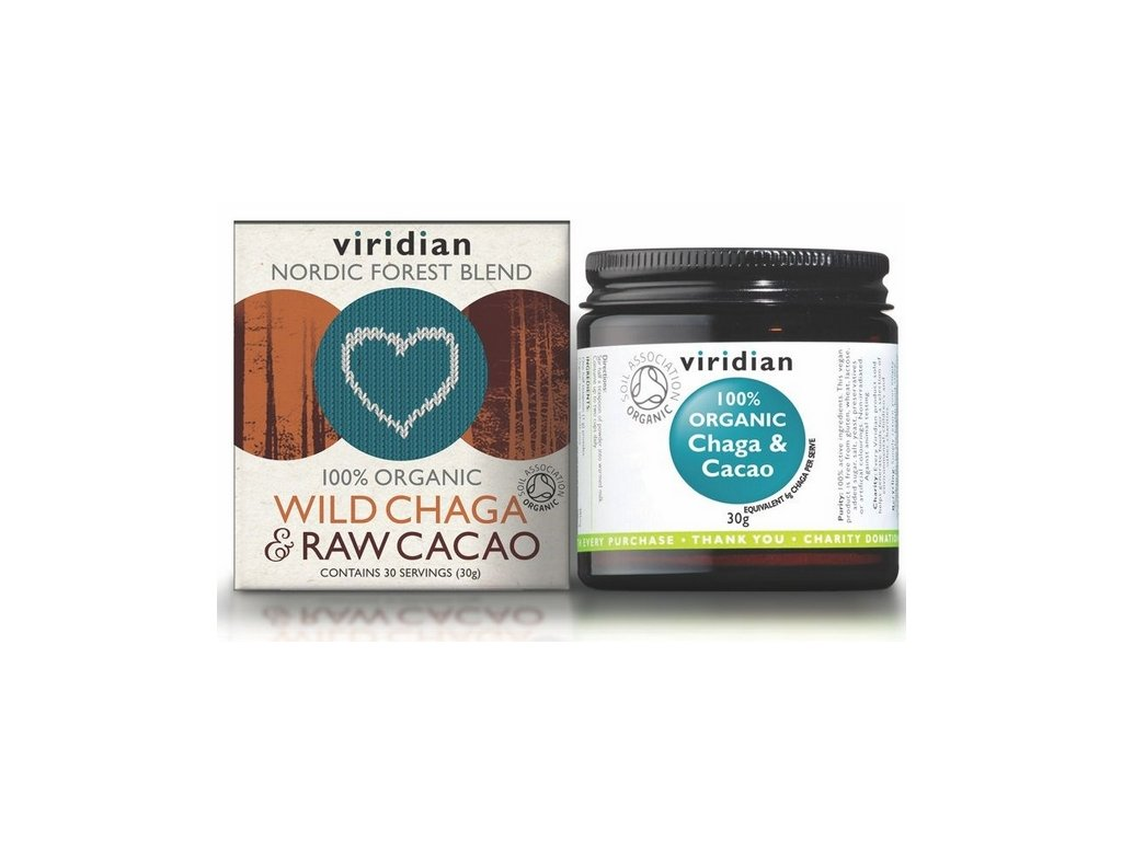 chaga cacao viridian