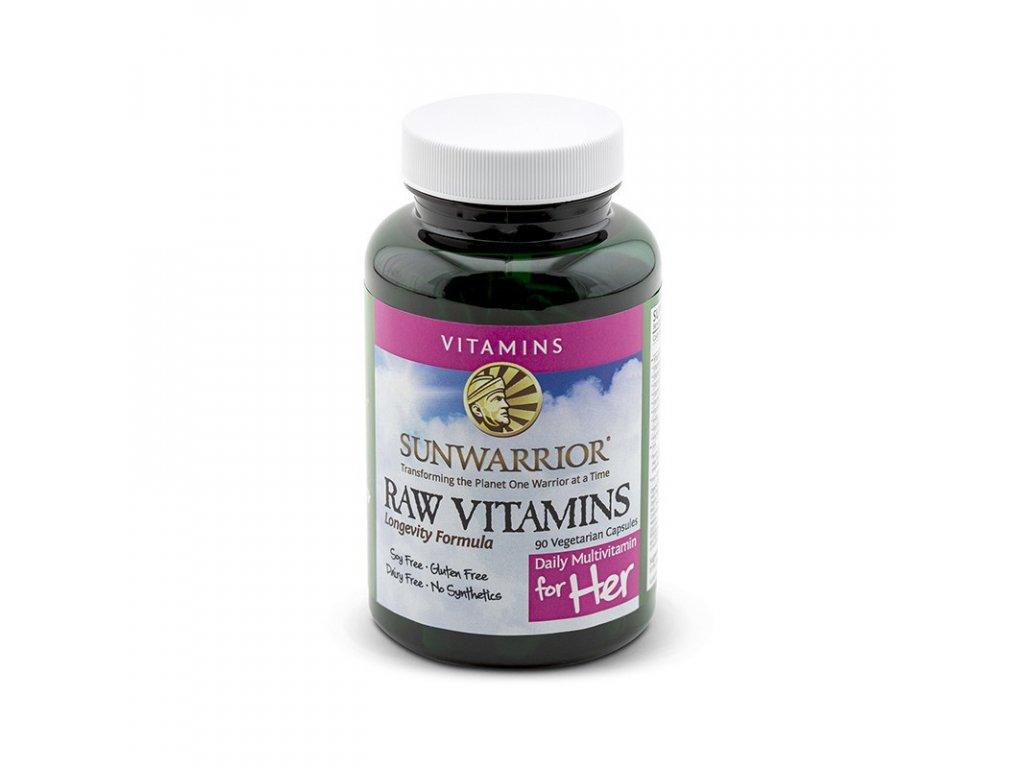 Vitamíny pro ženy 90 kapslí (přírodní)