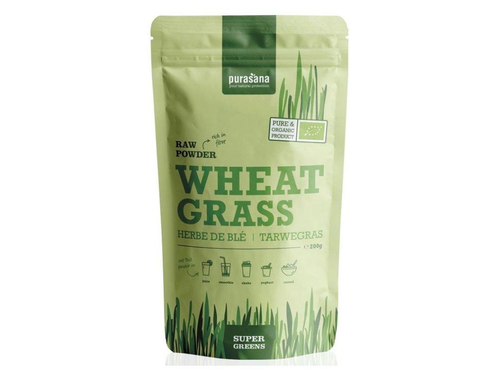 wheat grass raw powder