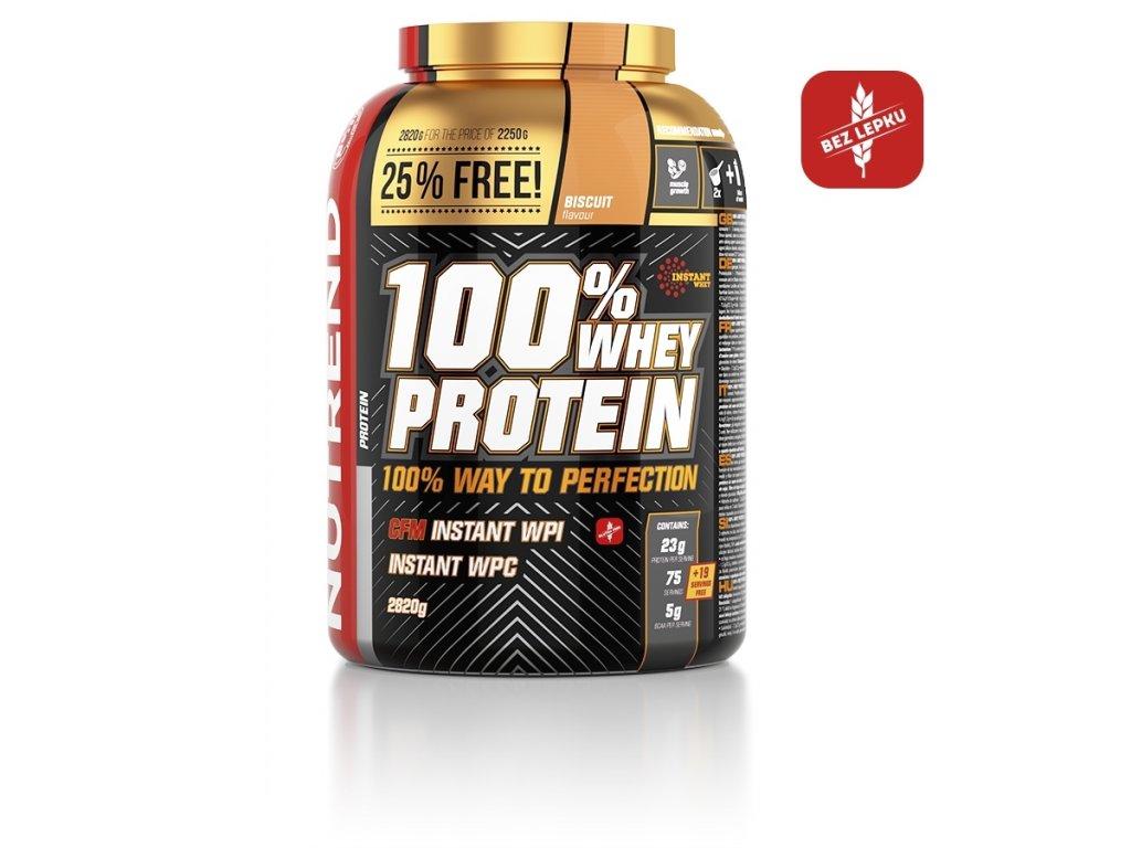 100% whey protein limitovaná edice