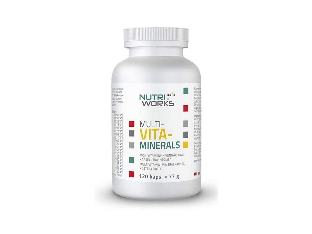 multi vita minerals nutriworks