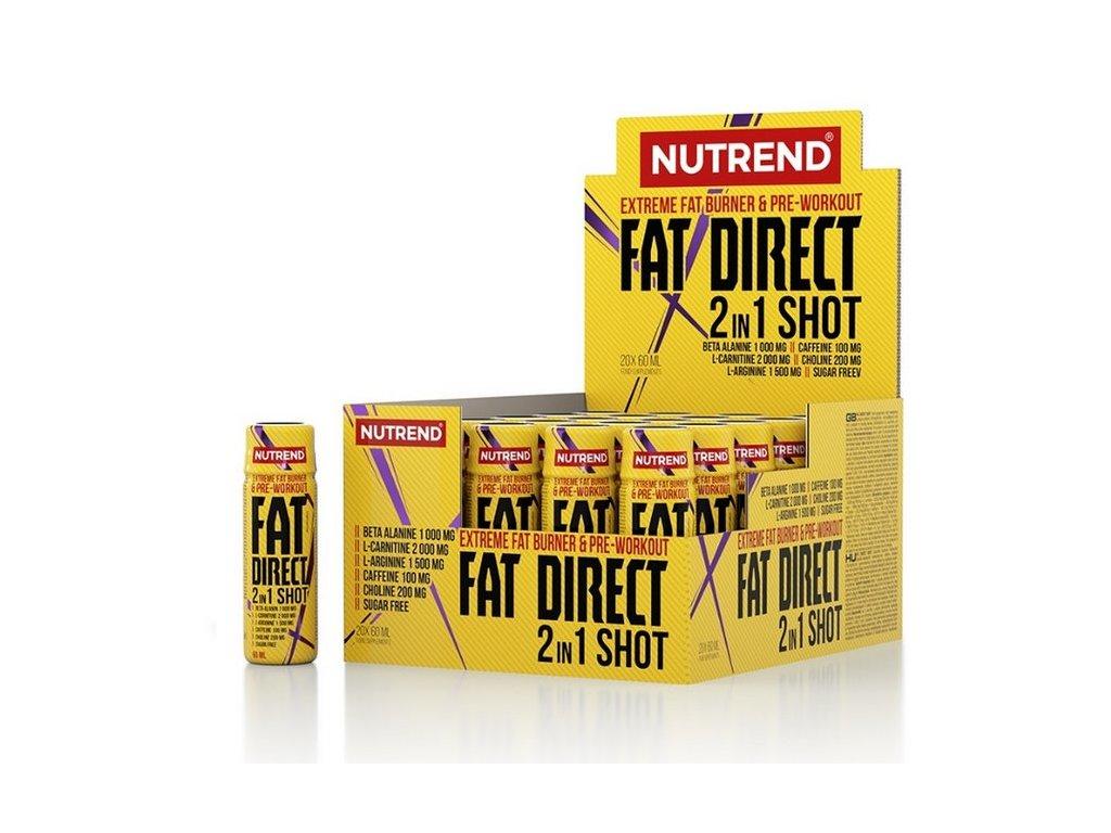 nutrend fat direct shot 2in1 2