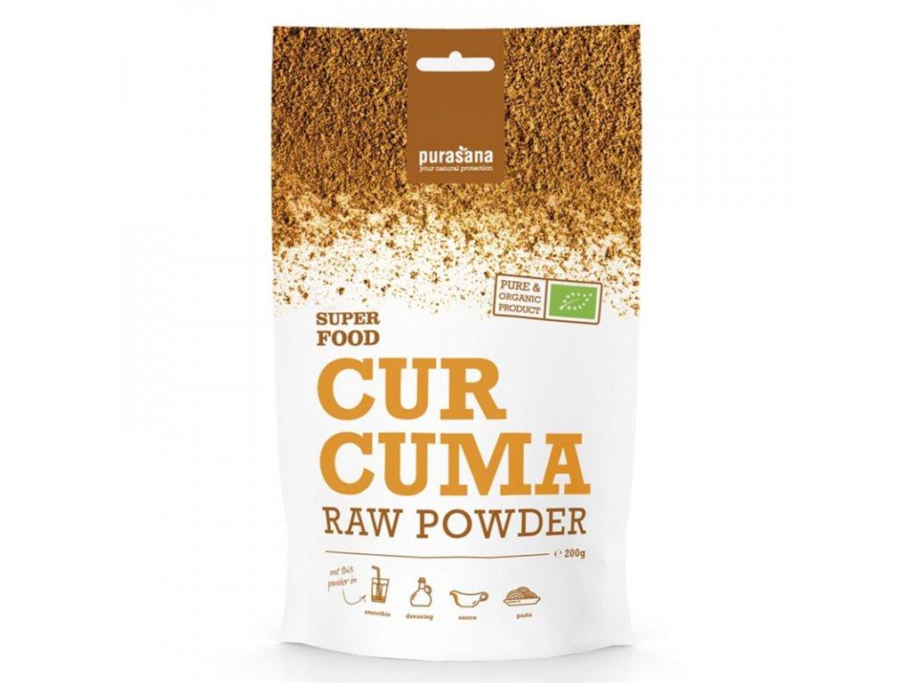 Curcuma Powder BIO 200g (Kurkuma prášek)